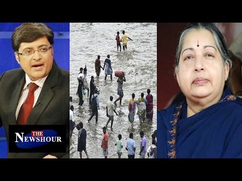Tamil Nadu Government Succeed To Fight Chennai Floods? : The Newshour Debate (3rd dec 2015)