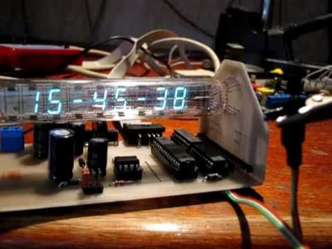 Mj zegar IW-18 z termometrem (My Clock IW-18 with thermometer)