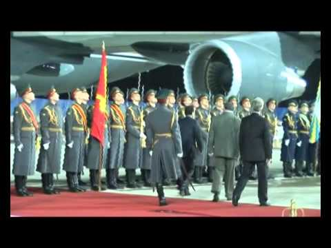 Проводы султана Брунея в Москве / Selamat tinggal kepada Sultan Brunei di Moscow