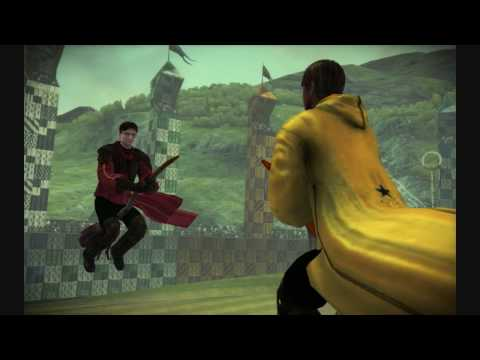 Harry Potter And The Half Blood Prince,The game - walkthrough: Quidditch match 2