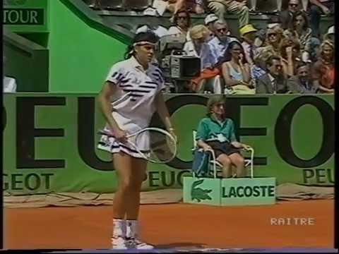 Gabriela Sabatini v Monica Seles Rome 1992 pt1