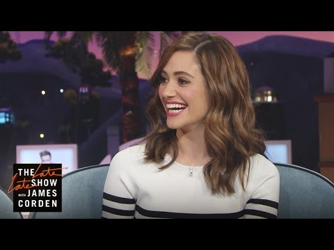 Emmy Rossum Is Justin Bieber's Neighbor