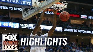 Myles Powell's quiet night erased by Romaro Gill's monster game | FOX COLLEGE HOOPS HIGHLIGHTS