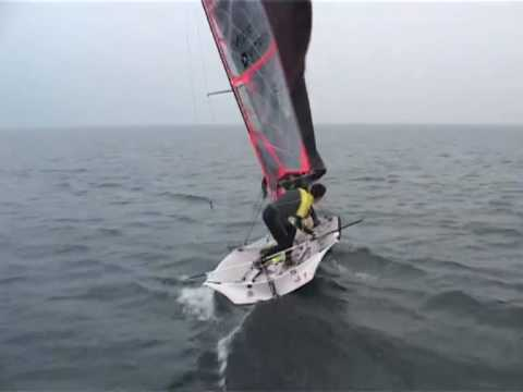 29er Sailing Light Wind Windcoach.com