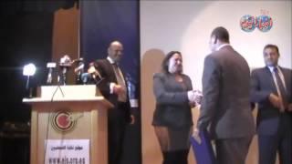 """نقابة الصحفيين تكرم """" السيد النجار وجمال حسين وجمال الزهيرى """"  لدورهم فى لجنة التحكيم"""