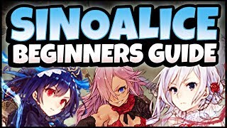 Beginner Tips! Combat, Rerolling, Cleaning and Beginner Guide! - SINoALICE (ーシノアリスー)