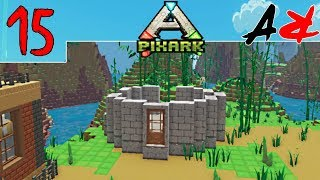 PixARK - Ep15 - Let's Start The Magic Tower (Ark Survival Evolved Meets Minecraft)
