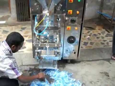Mineral Water Packing Machine   ( BR POUCH - +919810533877 )