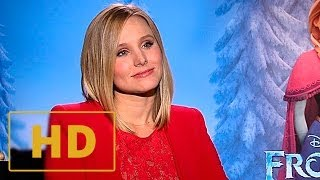 Frozen - Kristen Bell Interview HD (2013)