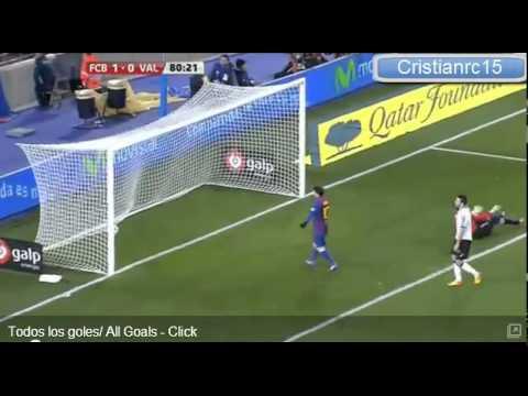 Barcelona 2-0  Valencia Copa del Rey (ONDACERO)