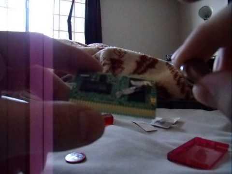 Cambiar bateria interna de cartucho GBA