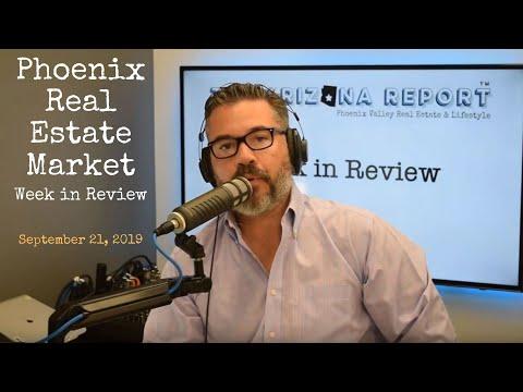 Phoenix Real Estate Market | Week in Review 09-21-19