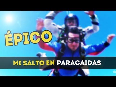ÉPICO - MI SALTO EN PARACAIDAS