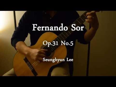 Fernando Sor - Opus 31 No 5