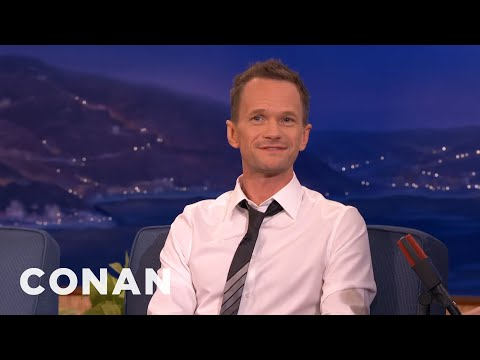 Neil Patrick Harris' Teen Three-Way Kiss  - CONAN on TBS