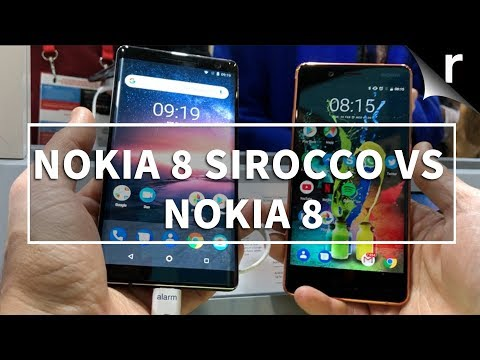 Nokia 8 Sirocco vs Original Nokia 8: What's changed?