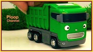 MUDDY McQueen and TAYO TRUCK FIXERS! - Toy Trucks Friends - Toy Cars videos for kids cartoons