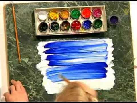 Видео как нарисовать художника
