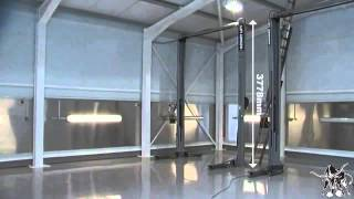 Rotary SPOA30M Two Post Lift Demonstration Part 1