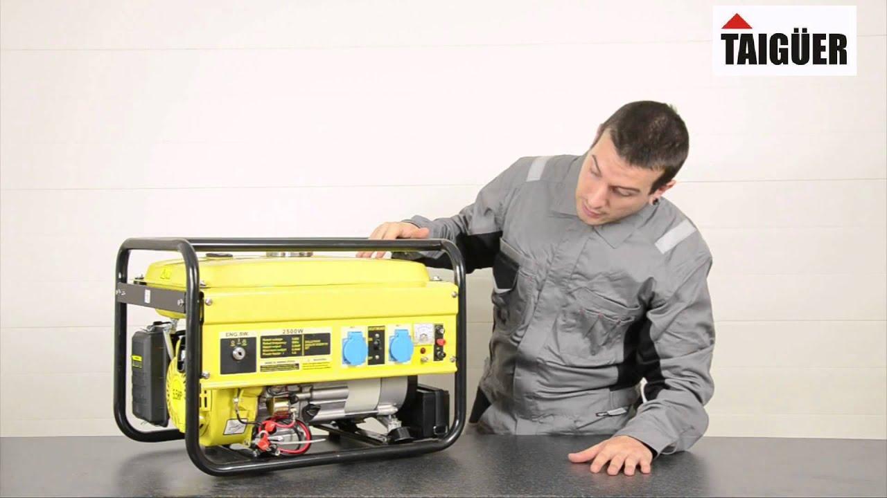 Generador electrico gasolina 2500w - Precio de generadores ...