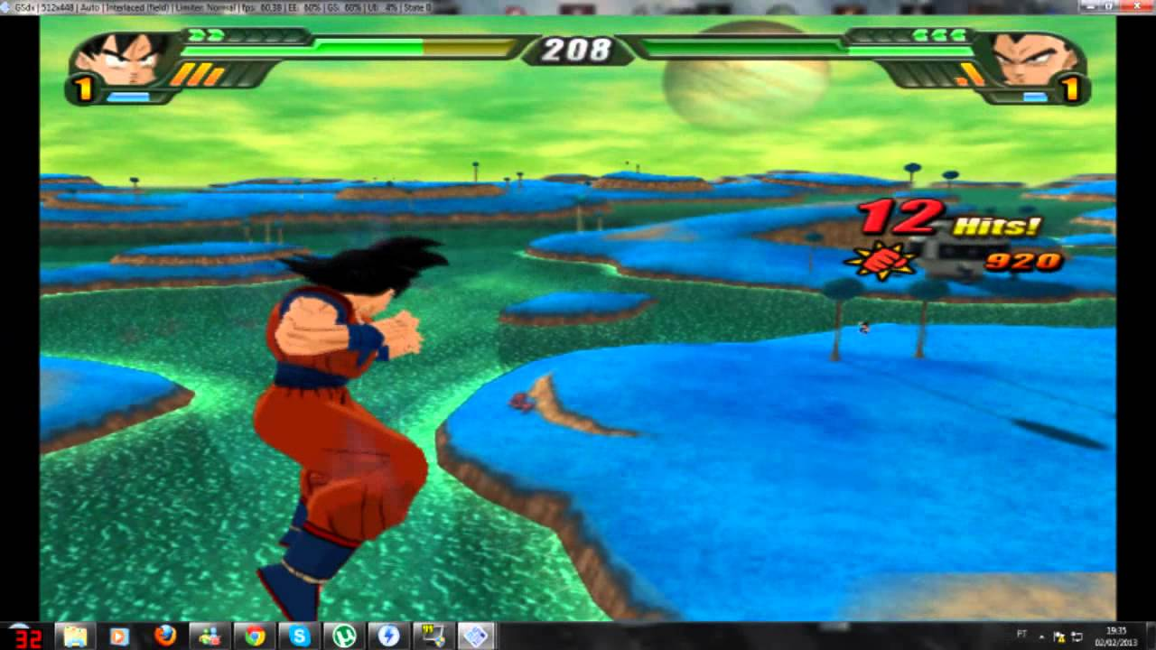 dragon ball z budokai 3 complete save game pcsx2