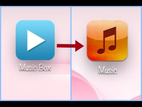 Transfer Songs from MusicBox to iTunes library 
