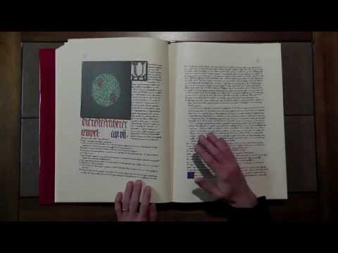 A Look Inside Carl Jung's Red Book [ ASMR ]