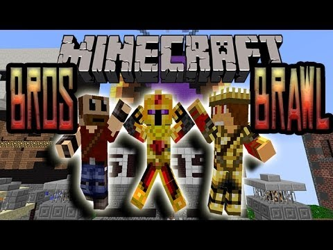 FR Craft Bros Brawl avec Binou et Golden Minecraft 1.7.2