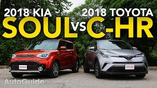 2018 Toyota C-HR vs Kia Soul Comparison