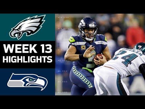 Eagles vs. Seahawks | NFL Week 13 Game Highlights
