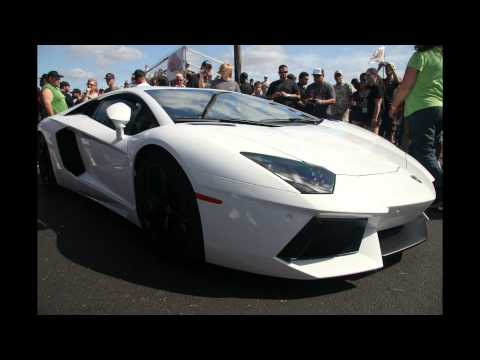 Twin Turbo Lamborghini Aventador at TX2K 2013