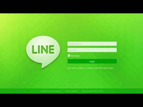LINE : วิธีสมัคร Line ผ่าน คอมพิวเตอร์ PC-Notebook (มิ.ย.2014)