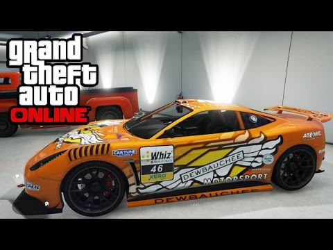 GTA 5 - Massacro Racecar Customization Guide & Driving Review (GTA Online Christmas DLC)