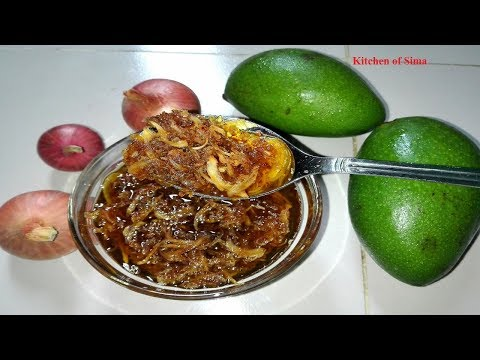 কাঁচা আমের ঝুরি আচার | Grated Raw Mango Pickle | আমের ঝুরি আচার