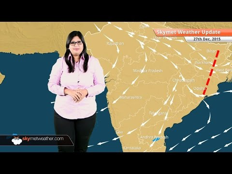 Weather Forecast for December 27: Rain and snow in Jammu and Kashmir, light rain in Tamil Nadu