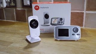 MOTOROLA MBP481  MBP482 digital video Baby Monitor review.