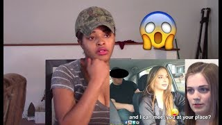 BF Caught Cheating w-Uber Driver on Hidden Camera (GF Watches) - REACTION