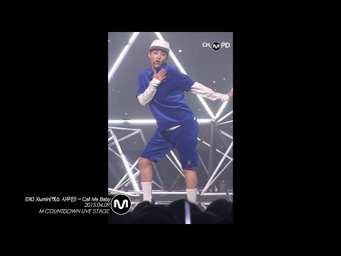 [MPD직캠] 엑소 시우민 직캠 Call Me Baby  EXO XIUMIN Fancam Mnet MCOUNTDOWN 150409