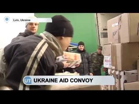 Lviv Sends Aid to East Ukraine: Ukrainians provide food and clothes for war-torn Donbas
