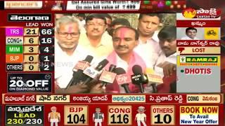 Etela Rajender Face to Face - Wins in Huzurabad - #TelanganaElectionResults2018 - netivaarthalu.com