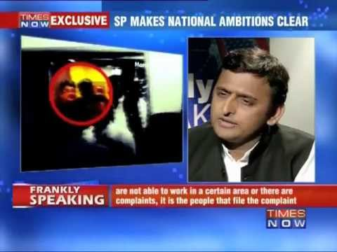 Frankly Speaking with Akhilesh Yadav (Part 1 of 4)