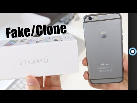 Fake iPhone 6 Unboxing [Clone]