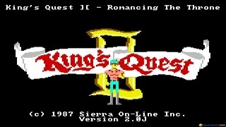King's Quest 2 gameplay (PC Game, 1985)