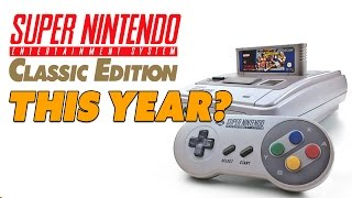 Nintendo SNES Classic Mini THIS YEAR? WHY? - The Know Game News