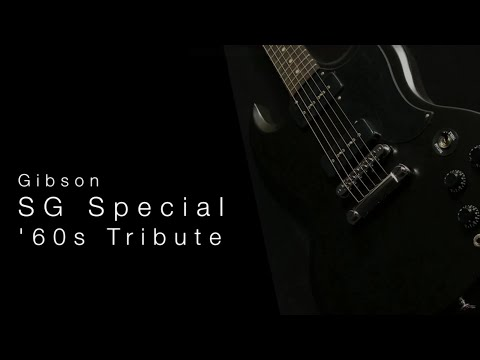 Gibson SG Special 60's Tribute• Wildwood Guitars Overview