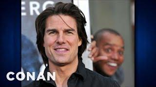 Donald Faison Photobombed Tom Cruise