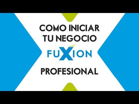 Como Iniciar Tu Negocio Fuxion - Profesional
