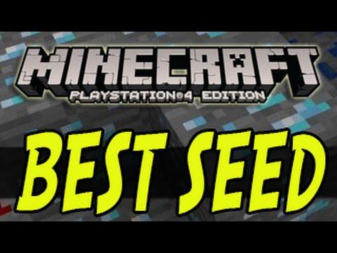 Minecraft PS4 BEST SEED Episode 1 Best Minecraft Playstation 4 Seeds