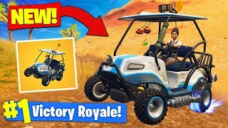 *NEW* Season 5 VEHICLE GAMEPLAY (ATC) In Fortnite Battle Royale!