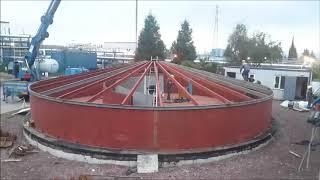 Asfalt Bitm Stok Tank reticileri depolama tank aka